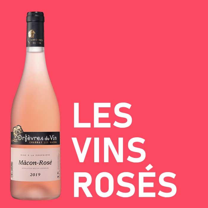 catégorie les vins rosés