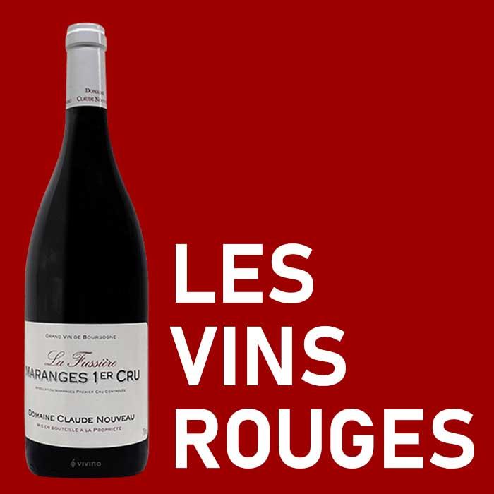 catégorie les vins rouges