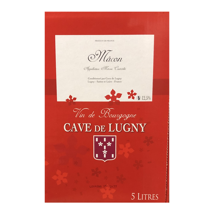 bag-in-box mâcon rouge cave de lugny