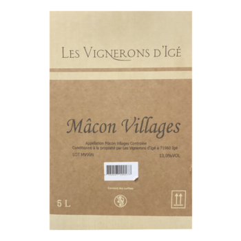 Bag-in-Box mâcon village les vignerons d'igé