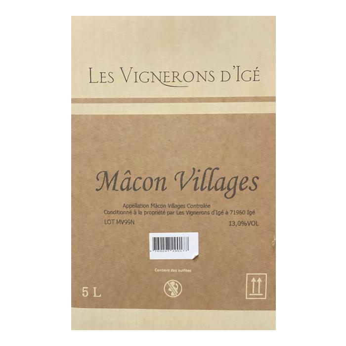 Bag-in-Box mâcon village les vignerons d'igé