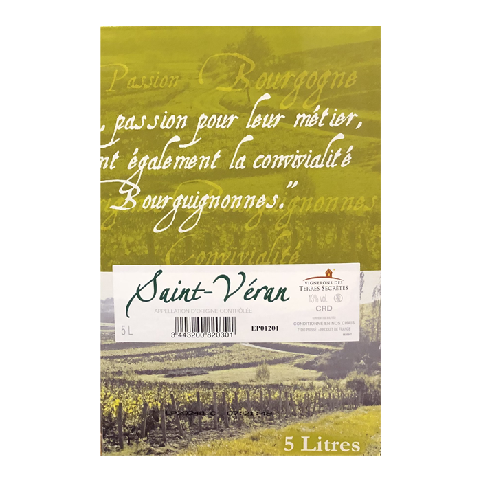 Bag-in-Box Saint-véran